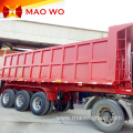 Hydraulic 3 Axles Rear Tipper Trailer for Sale